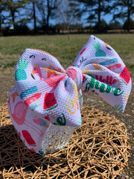 12 Month Seasonal Bow Collection, Bows and Stretch Headwraps, Simply Inspired By Zoe